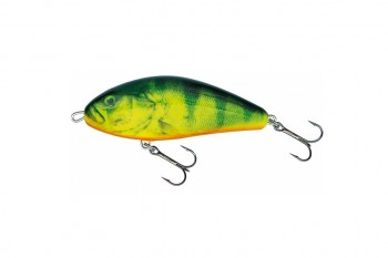 Salmo fatso floating real hot perch 10 cm