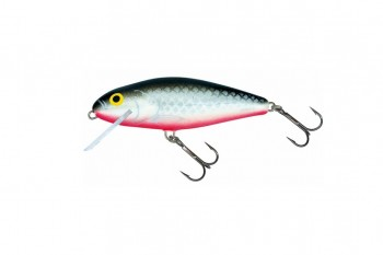 Salmo Perch super deep runner grey silver 8 cm