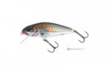 Salmo Perch shallow runner holo grey shiner 12 cm