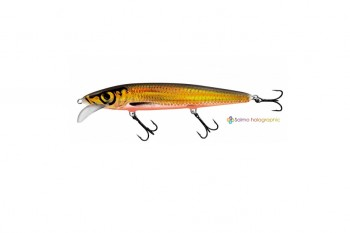 Salmo whacky floating gold chartreuse shad 12 cm