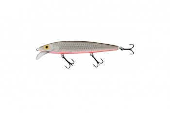 Salmo whacky floating grey silver 12 cm