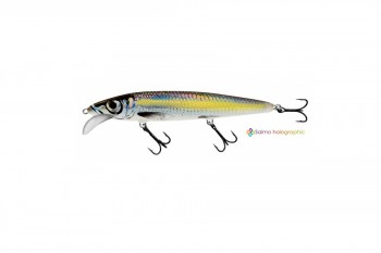 Salmo whacky floating silver chartreuse shad 12 cm