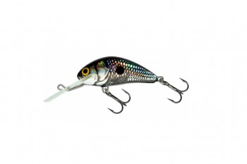 Salmo hornet floating black silver shad 4 cm