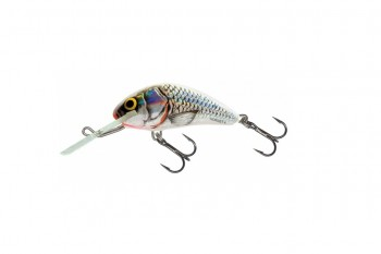 Salmo hornet sinking silver white shad 4 cm