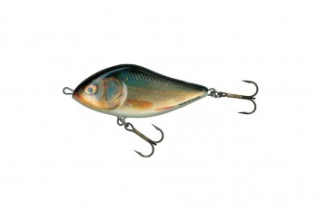 Salmo slider floating real roach 12 cm