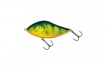 Salmo slider sinking real hot perch 12 cm
