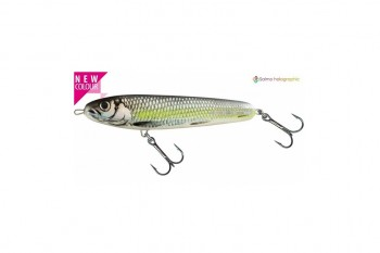 Salmo sweeper sinking silver chartreuse shad 17 cm
