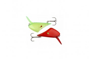 Savage Gear lip scull rood en groen small